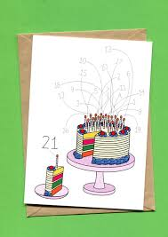 let the cake murder begin birthday card things by bean