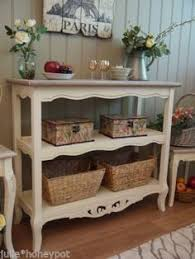 Ebay Console Table by Shabby Chic French Country Cottage Style Cream Console Table