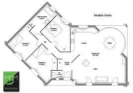 plan de maison en v plain pied 4 chambres plan de maison en v gratuit 4 plein pied architecture