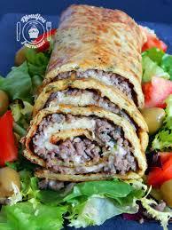 viande a cuisiner roulé de pommes de terre à la viande hachée djoudjou se met aux