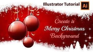 create a christmas card illustrator tutorial how to create a christmas card
