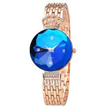 selling women wrist watch with slim leather band vogue ladies
