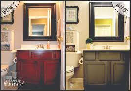 painted bathroom cabinets ideas painting bathroom cabinets sincerely d