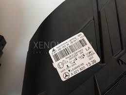 mercedes s class headlights benz s class w221 2009 2013 bi xenon headlights