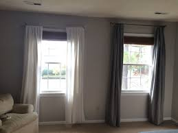 make custom curtains from store bought panels simply swider
