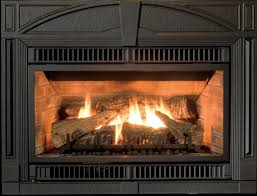 endearing black steel gas log fireplace design ideas with classic