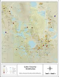 clermont fl map sinkhole map lake county florida sinkhole map of