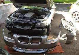 beemer lab formerly planet 5 e60 fitting m sport front bumper