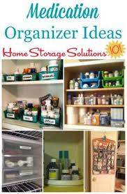Home Storage Solutions by Medication Organizer Ideas U0026 Storage Solutions