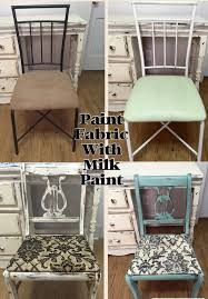 Rocking Chair Scary Pop Up Painting Fabric With Milk Paint Oh Yes You Can U2013 I U0027m Not