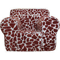 insert for pottery barn kids anywhere chair giraffe print cover