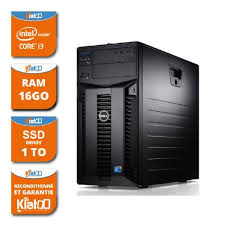 dell ordinateur de bureau ordinateur de bureau serveur dell poweredge t310 intel i3 16go