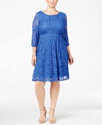 ing trendy plus size lace a line dress dresses plus sizes macy u0027s