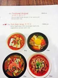 cuisine b venoth s culinary adventures b bap food nu sentral kuala