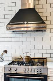amazing green ceramics subway tile with wooden cabinet also