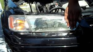 1999 toyota camry headlights how to clean 1999 toyota camry headlights mothers headlight