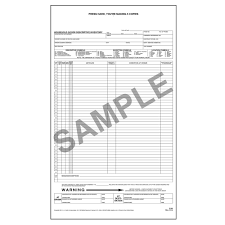 household goods descriptive inventory form long form