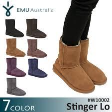 emu australia s boots socalworks rakuten global market emu emu stinger lo sheepskin