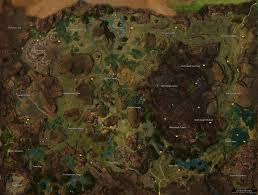 Gw2 World Map by Gw2 Brisban Wildlands Map 12 2014 By Guildwars 2 On Deviantart