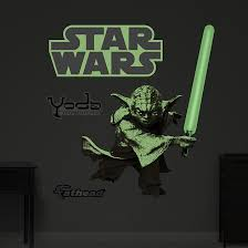 glow in the dark poster yoda glow in the dark toys and posters