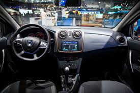 renault sandero interior dacia premiers at the geneva motor show 2017 dacia news