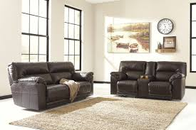 Living Room Sets By Ashley Furniture Buy Ashley Furniture Barrettsville Durablend Chocolate Reclining