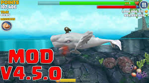 download game hungry shark evolution mod apk versi terbaru hungry shark evolution v4 5 0 mod unlimited money gem link in