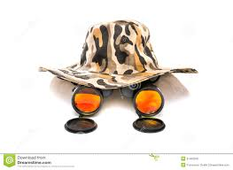 safari binoculars clipart safari hat with binoculars royalty free stock photo image 31091985