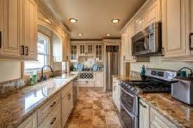 Of Antique White Kitchen Cabinets With Black Granite Countertops - Antique white cabinets kitchen