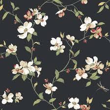 nice decoration floral wall paper enchanting dark floral wallpaper
