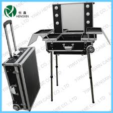Professional Makeup Lights Makeup Station With Lights And Mirror Jinhua Hengxin Case U0026 Bag
