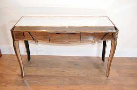 dressing bureau deco mirrored dressing table desk bureau mirror