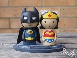 marvel cake toppers woman and batman cake topper wedding cake topper