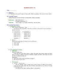 first grading mathematics vi