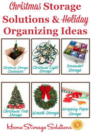 Decorated Christmas Tree Storage by Christmas Storage Solutions U0026 Holiday Organizing Ideas Christmas