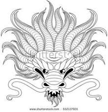 chinese dragon coloring google coloring pages