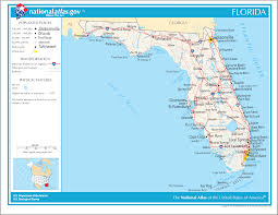 Florida Map Cities Map Of Florida And Major Cities You Can See A Map Of Many Places