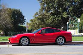 ferrari hatchback coupe collectible classic 1997 2002 ferrari 550 maranello