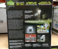 home zone security led motion light security systems home zone security led motion light costco
