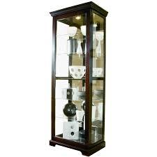 Corner Curio Cabinet Kit Amazon Com Pulaski Two Way Sliding Door Curio 30 By 20 By 80