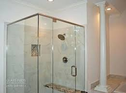 Leaking Frameless Shower Door by Shower Frameless Glass Shower Enclosures Prices Do Frameless