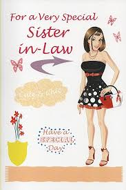 sister in law birthday card fugs info