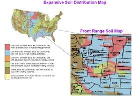 colorado front range map colorado soil conditions how they affect littleton