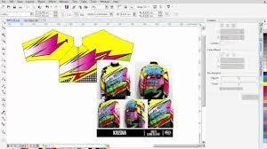 desain jaket racing cara membuat desain jaket racing full dengan corel draw youtube