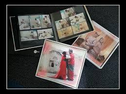 sticky photo album sle crystall uv album size10x24 with box mockup sticky album