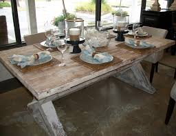 table farmhouse dining room tables shabbychic style medium