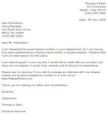 unique msw cover letter sample 50 in cover letter sample for