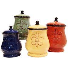 tuscan kitchen canisters ebay