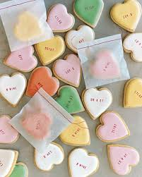 valentines day cookies s day cookie recipes martha stewart