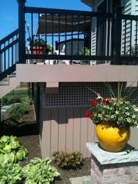 wonderful deck skirting ideas to use for your home